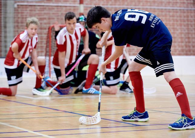 Floorball på Hørby